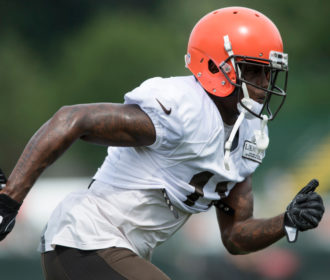 Browns rookie WR Antonio Callaway cited for marijuana possession