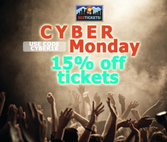SAVE 15% on Red Rocks Tickets for Cyber Monday