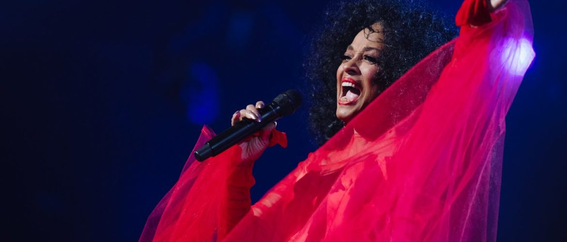 Diana Ross reveals 2019 Red Rocks Amphitheatre show hot off her Grammy performance